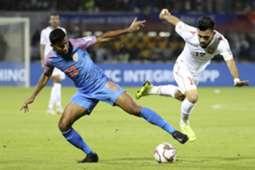 India vs Bahrain Ashique Kuruniyan