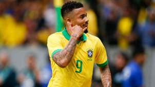 Gabriel Jesus Brazil Qatar friendly 2019