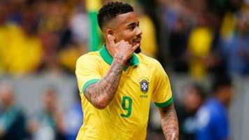 Gabriel Jesus Brazil Qatar friendly 2019