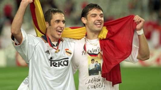 Raul Fernando Morientes Real Madrid