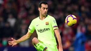 Sergio Busquets Atletico de Madrid Barcelona LaLiga 24112018