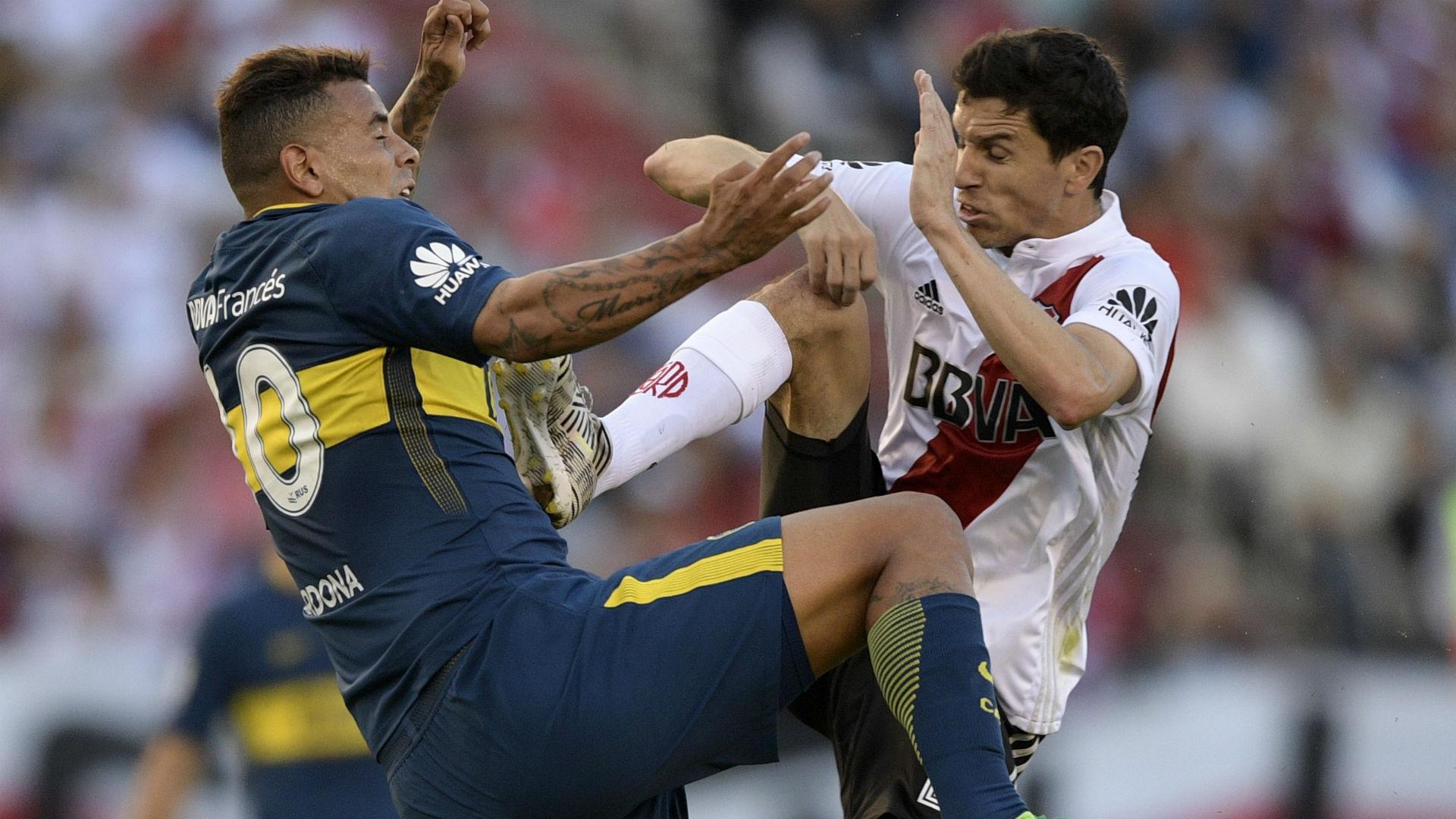 River y Boca, contra dos grandes de Brasil — Libertadores