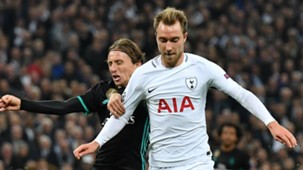 Christian Eriksen, Luka Modric, Tottenham vs Real Madrid, 17/18