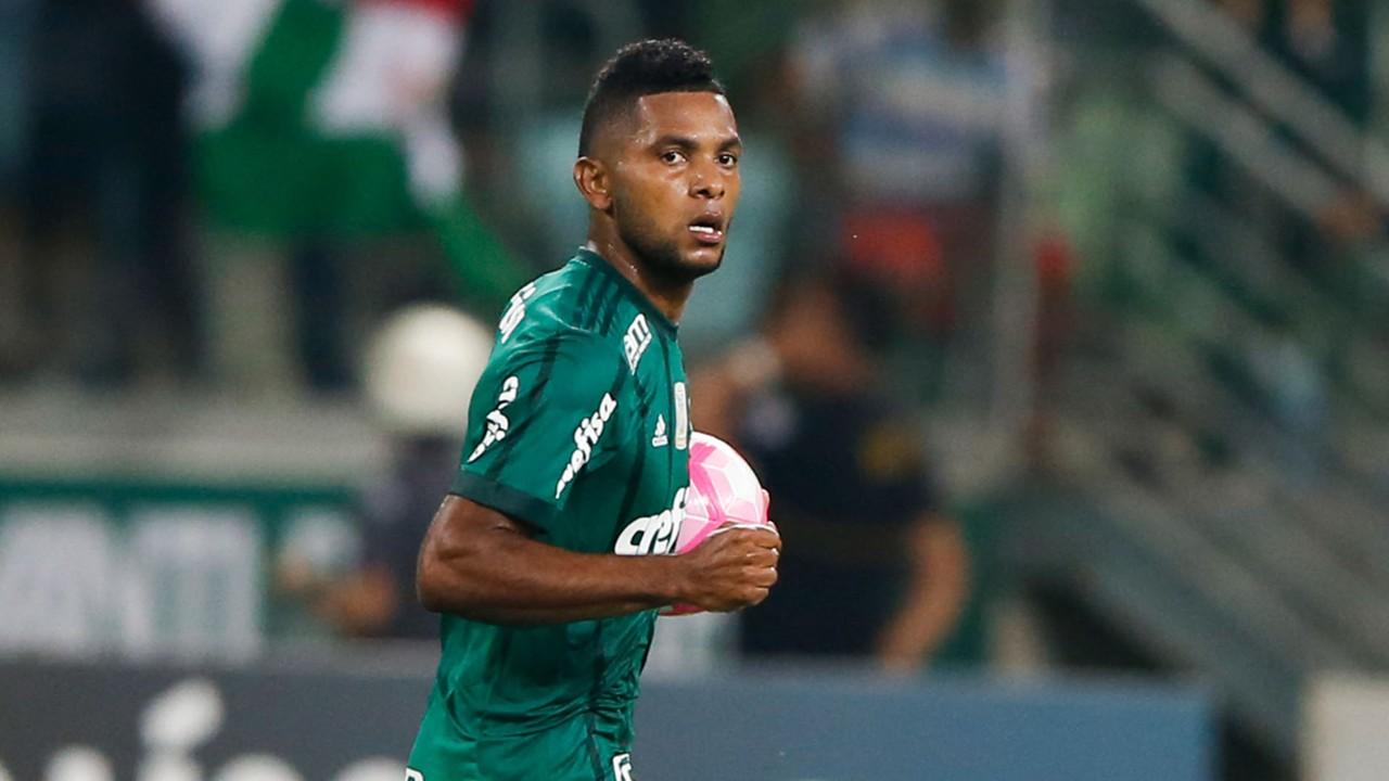 Miguel Borja se visti³ de héroe marc³ doblete y salv³ a Palmeiras