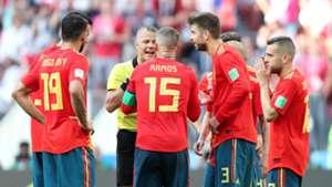 Gerard Pique Spain handball Russia World Cup 010718