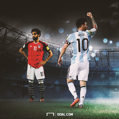 Messi and Salah