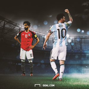 Messi and Salah