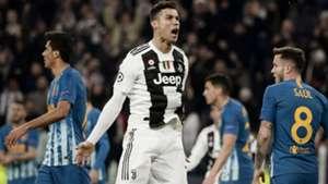 Cristiano Ronaldo Juventus Atletico Madrid Champions League