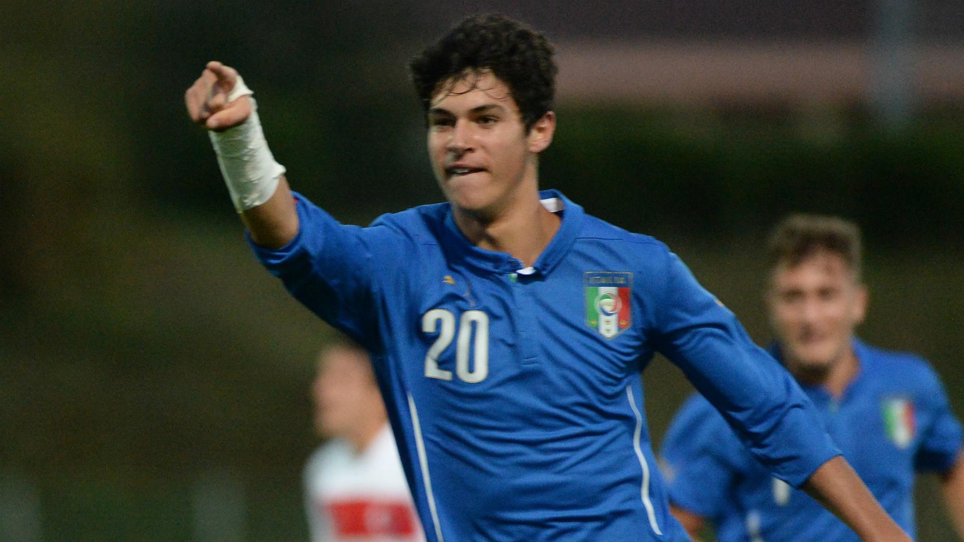 Pietro Pellegri Italy Under-16s