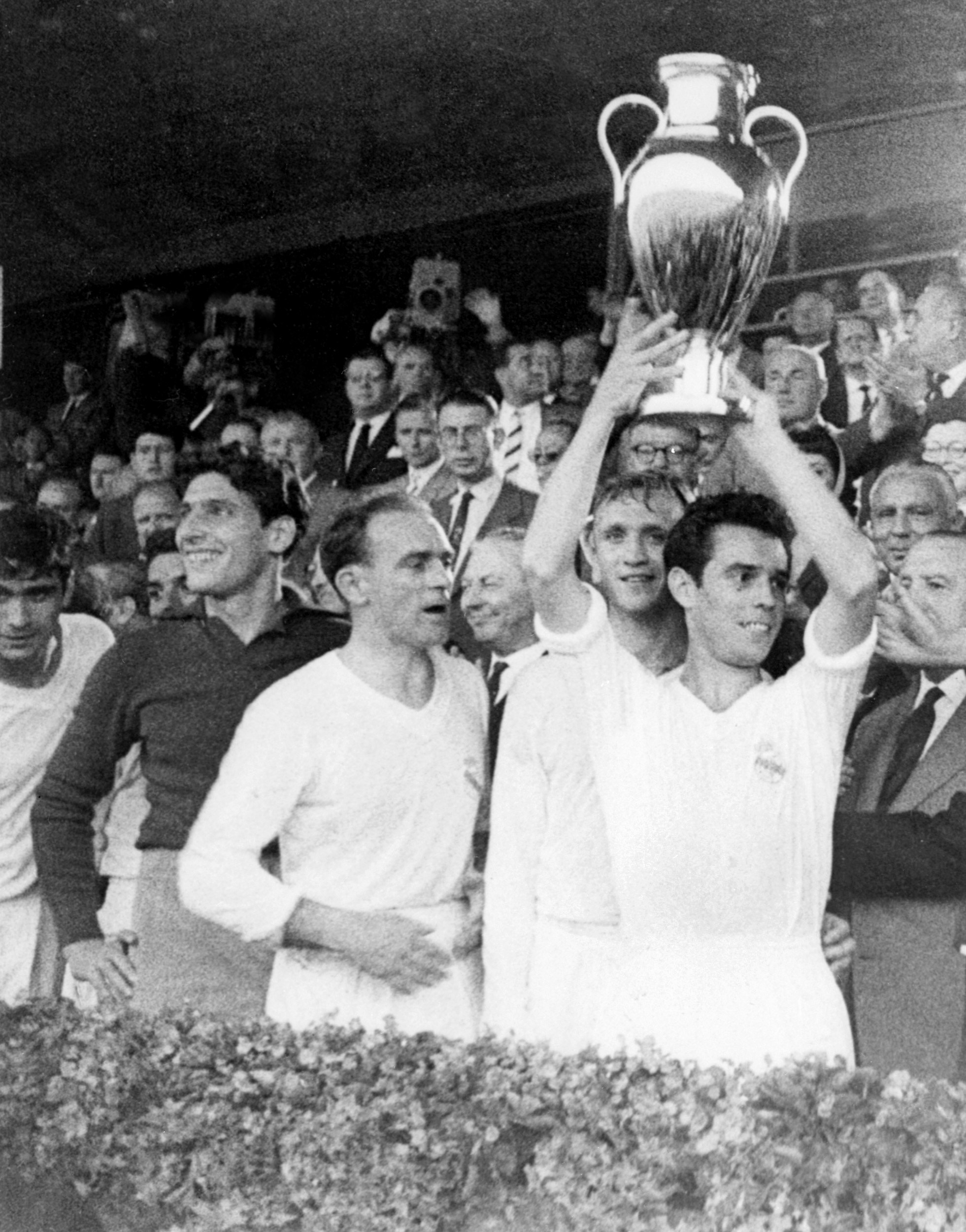 SOCCER-EUROPEAN CUP-REAL MADRID