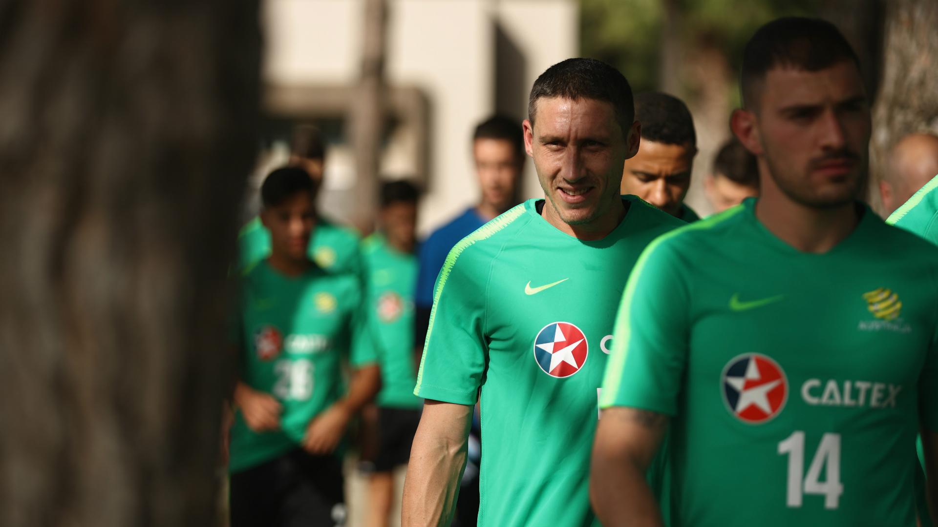 Mark Milligan Socceroos 2018