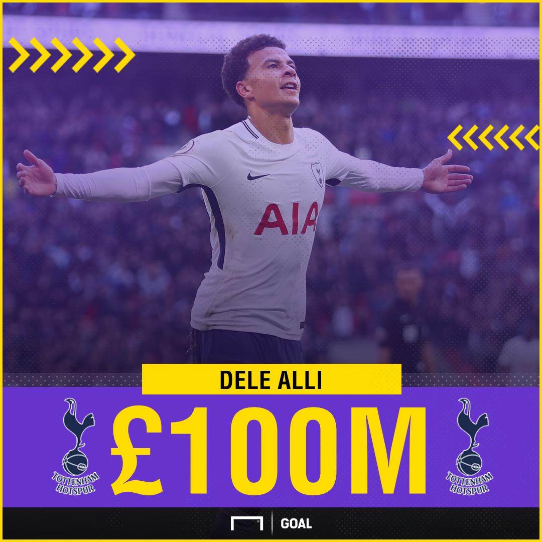Dele Alli £100m