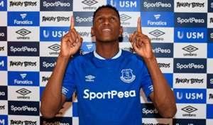 Yerry Mina Everton 2018