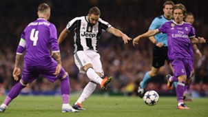 Gonzalo Higuain Juventus Real Madrid
