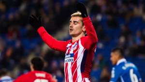Antoine Griezmann Espanyol Atletico Madrid Liga 22122017