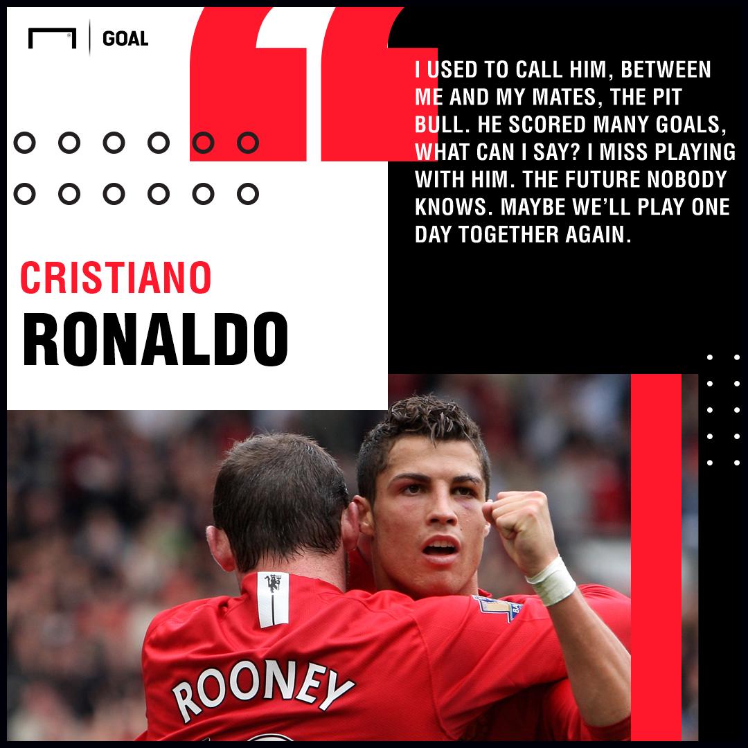 Cristiano Ronaldo Wayne Rooney reunion