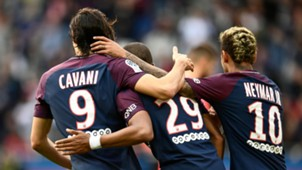 Cavani Mbappe Neymar 29092017