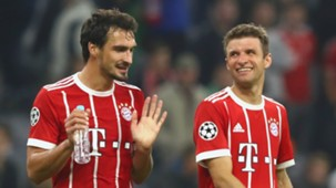 Mats Hummels, Thomas Muller, Bayern Munich, 17/18