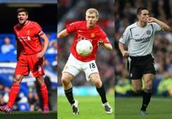 Gerrard & Scholes & Lampard
