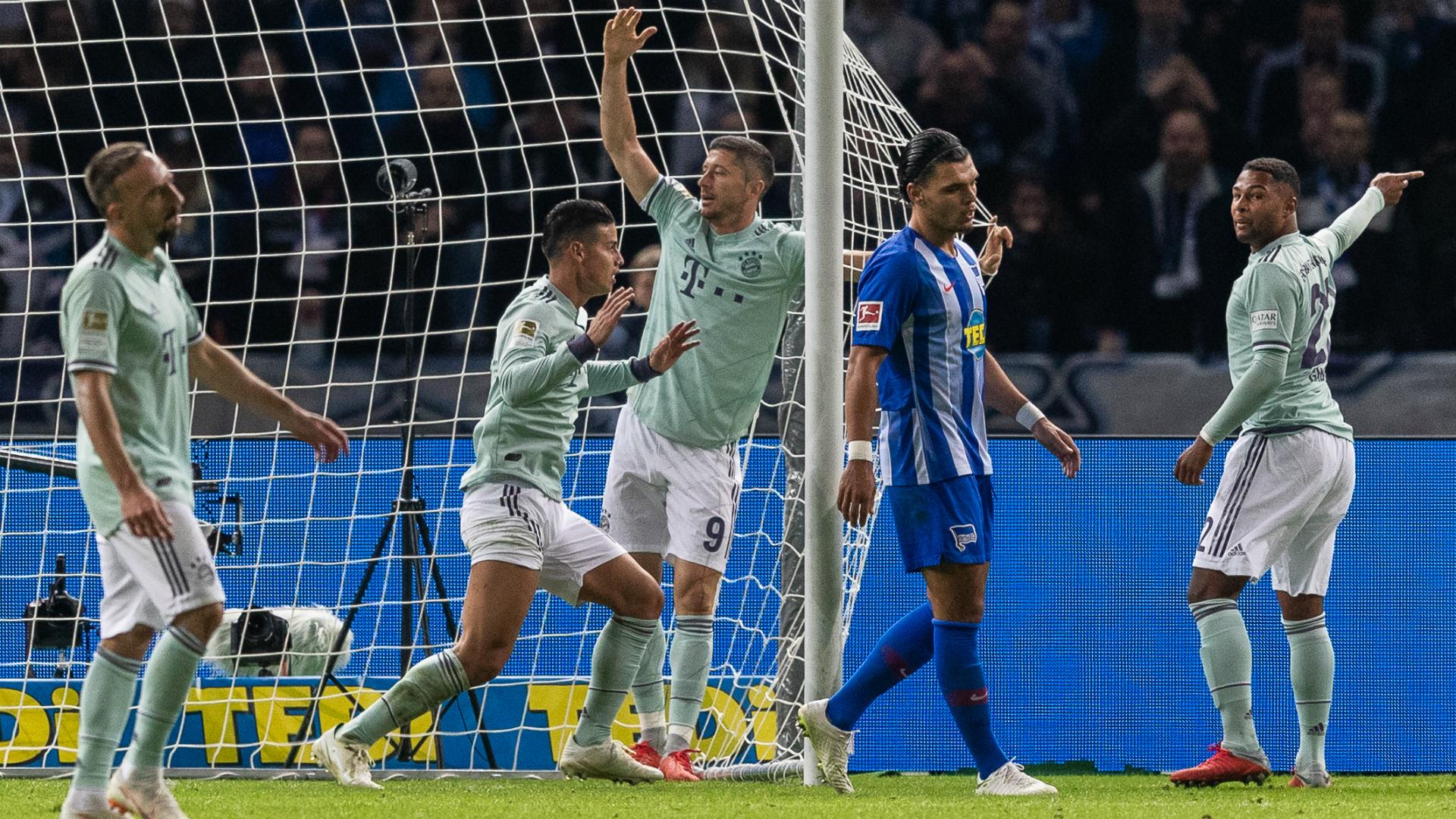 Hertha Berlin Bayern Munchen Bundesliga