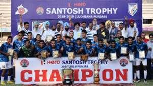 Services Santosh Trophy 2019