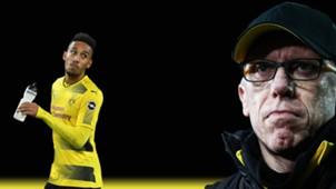 GFX Borussia Dortmund Peter Stöger Pierre-Emerick Aubameyang