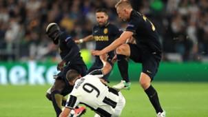 Glik Higuain Juventus Monaco Champions League