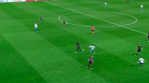 Gol mal anulado al Málaga