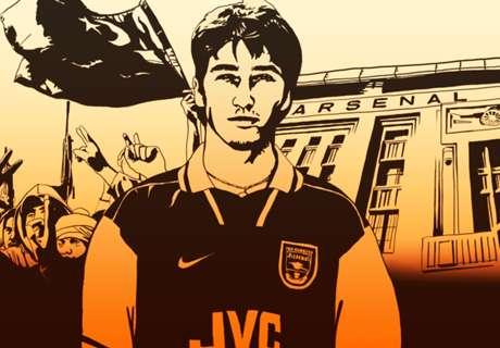 Muntasser: Ein libyscher Junge, der es zu Arsenal schaffte