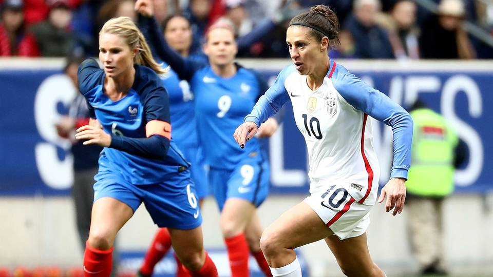 USWNT held to draw by France, set up for crucial clash with England in SheBelieves Cup