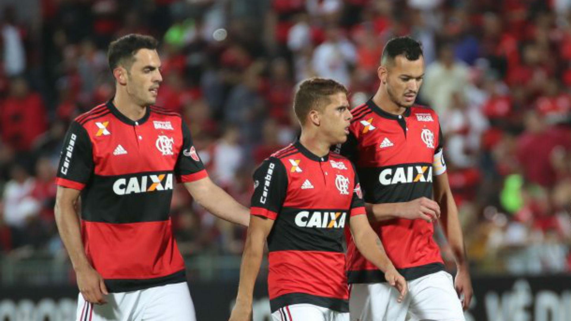 Rhodolfo Cuellar Rever Flamengo São Paulo Brasileirão 03 07 2017