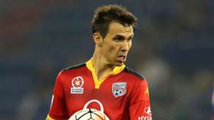 Isaias Newcastle Jets v Adelaide United A-League 18122015