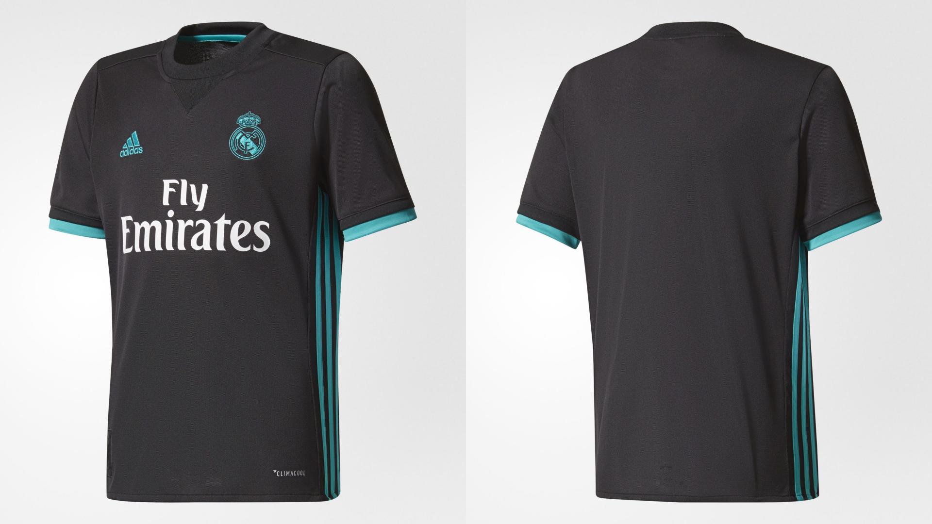 Así son las nuevas camisetas del Real Madrid para la temporada 2017 ... f84a85b625deb