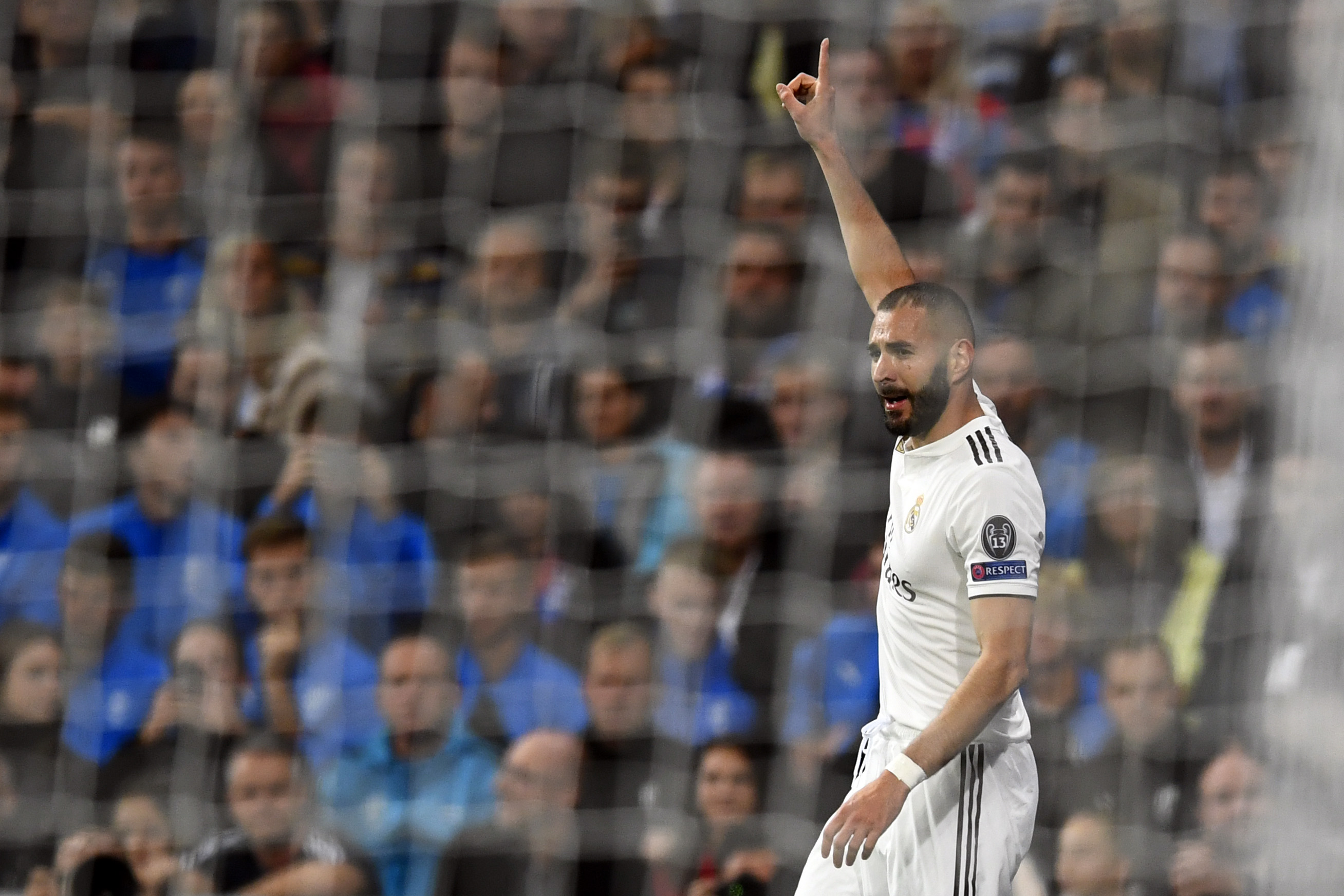 BENZEMA REAL MADRID VIKTORIA PLZEN CHAMPIONS LEAGUE