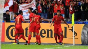 Selebrasi Indonesia - Indonesia U-16