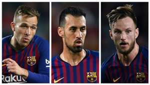 Barcelona midfield