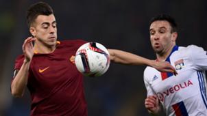 Stephan El Shaarawy Roma Lyon Europa League 16032017