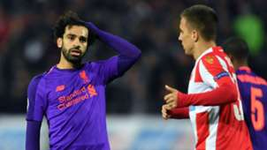 Mohamed Salah Liverpool Red Star Champions League 061118