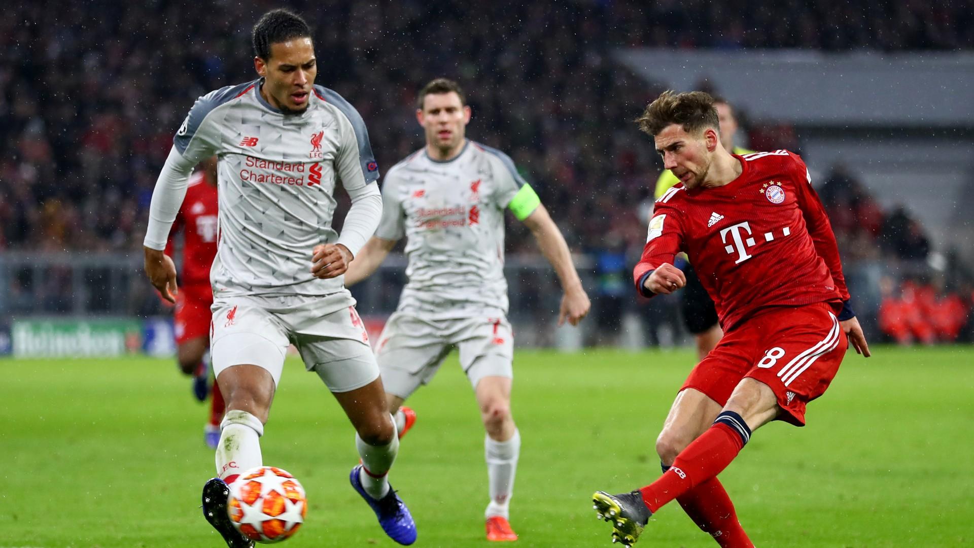 Goretzka - Bayern Munich Liverpool