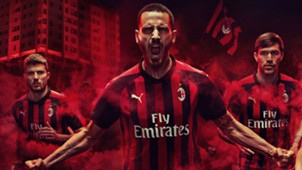 AC Milan home kit 2018-19