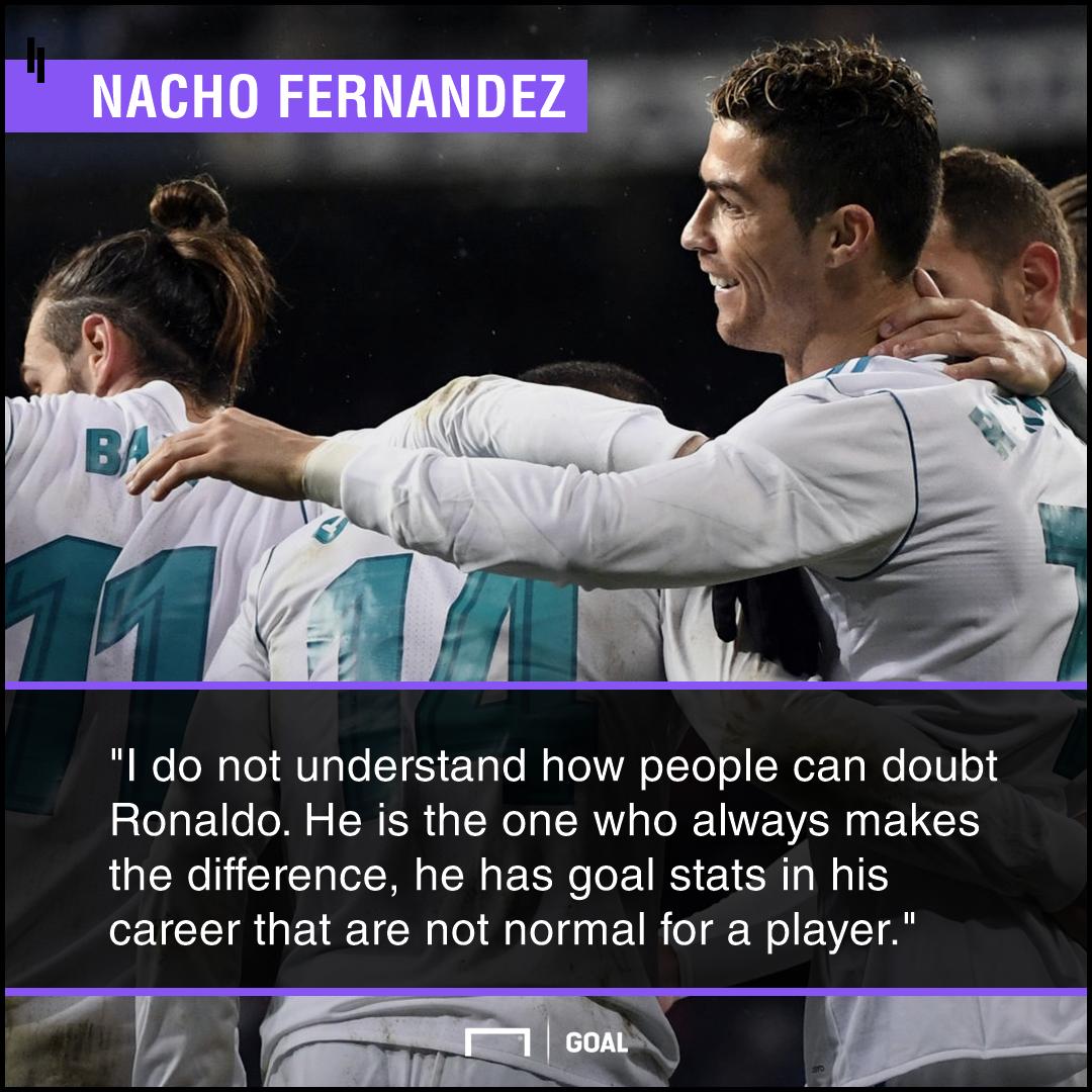 Cristiano Ronaldo critics baffle Nacho