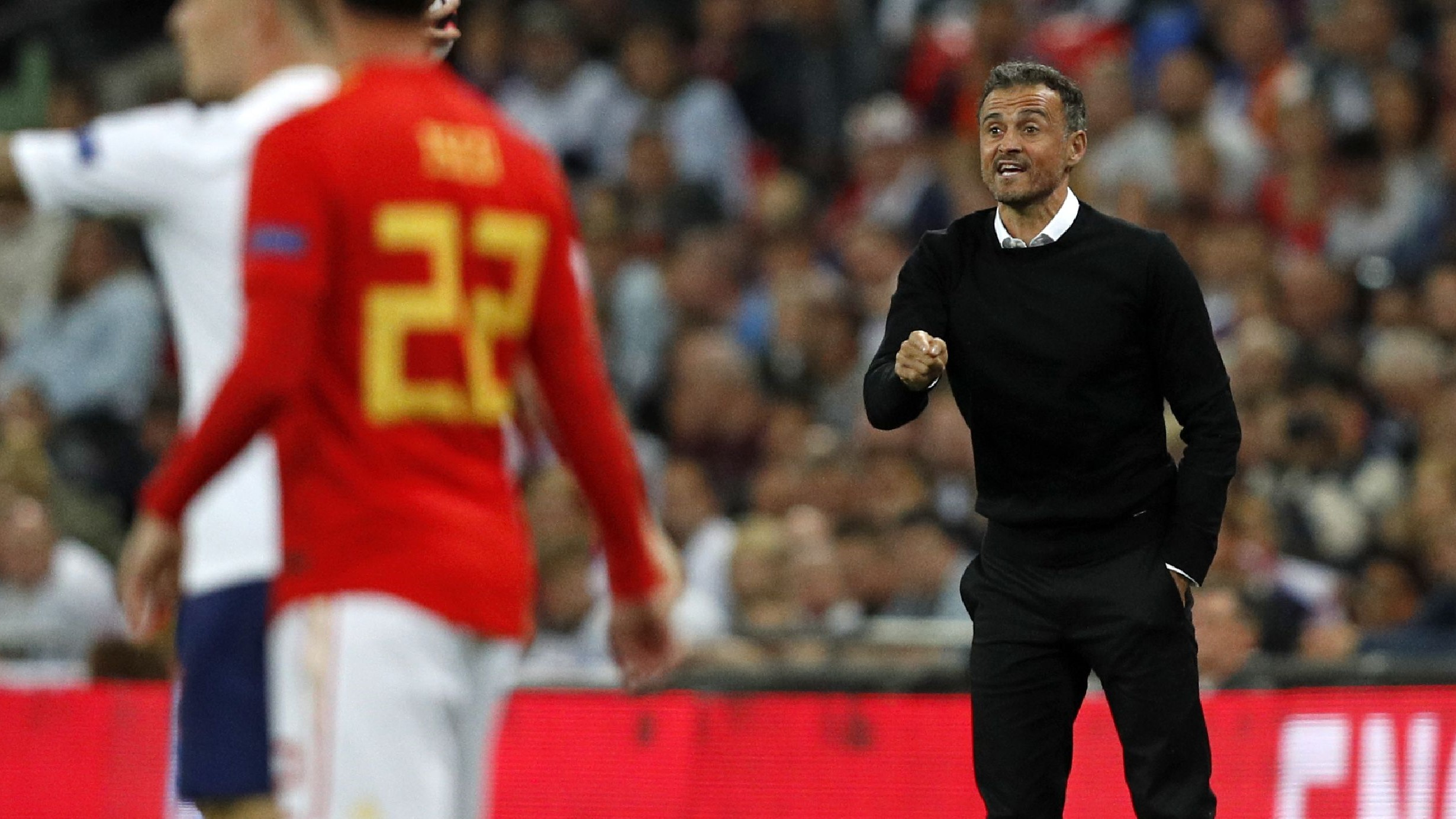 Luis Enrique Inglaterra España England Spain Nations League 08092018