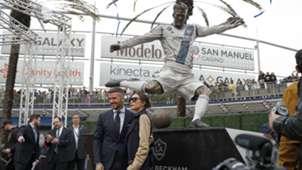 David Beckham LA Galaxy statue 2019