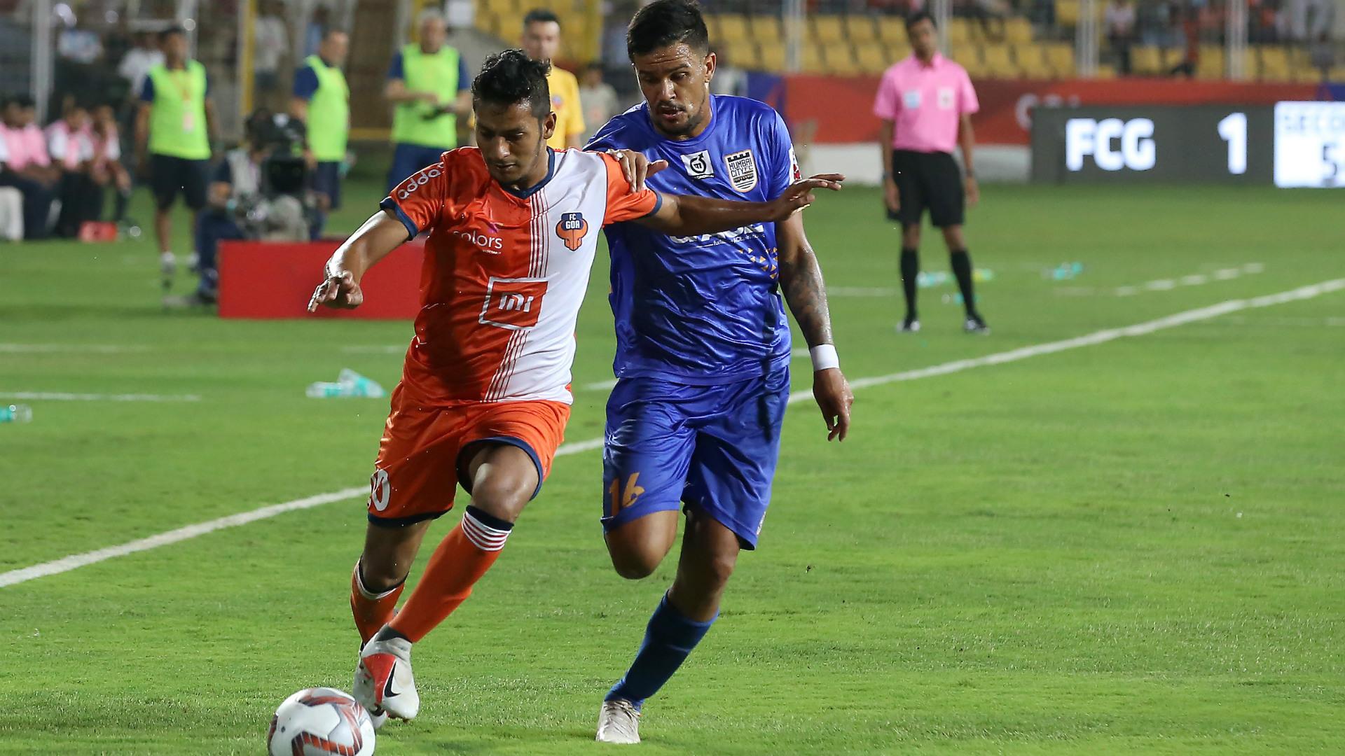 Seriton Fernandes FC Goa Mumbai City FC ISL 5 10242018