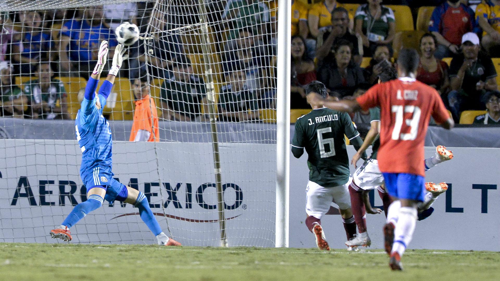 Gibrán Lajud Selección mexicana 111018