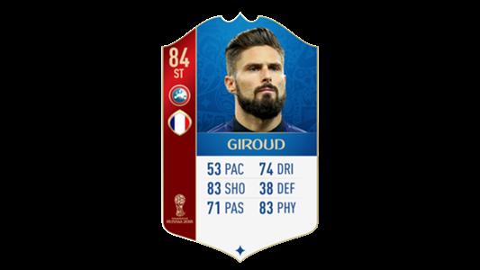 FIFA 18 World Cup France Giroud