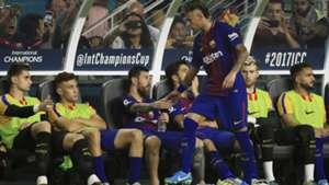 Messi, Neymar Barcelona x Real Madrid 30 07 17