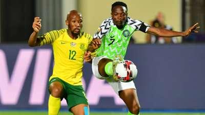 Ahmed Musa and Kamohelo Mokotjo - Nigeria vs. South Africa