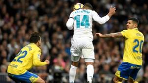 Casemiro Real Madrid Las Palmas La Liga