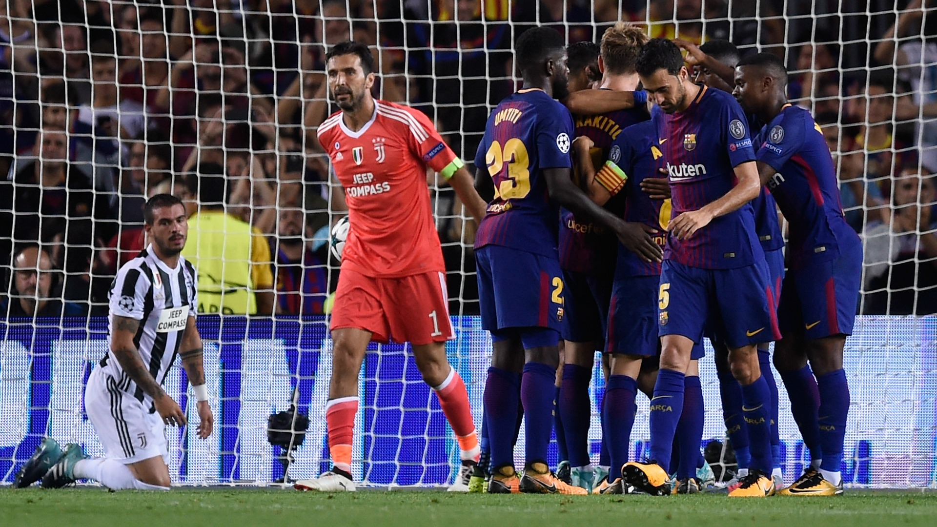 Gianluigi Buffon Barcelona Juventus UCL 12092017